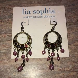 NEW Lia Sophia Dangle Earrings